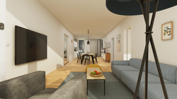 Halter Henz Apartment C - Living Area