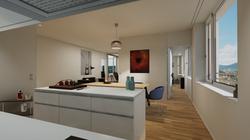 Halter Henz Apartment A - Kitchen