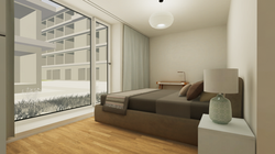 Halter Henz Apartment C - Master Bedroom