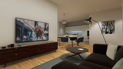 Halter Henz Apartment A - TV Area