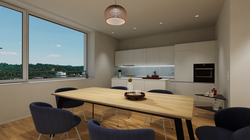 Halter Henz Apartment A - Dining Area