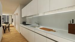 Halter Henz Apartment C - Kitchen