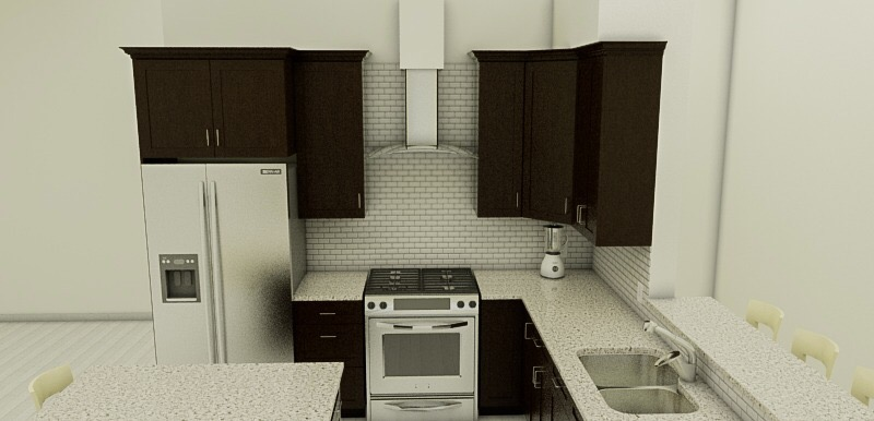 Project: Kitchen Replace. Serie Mill