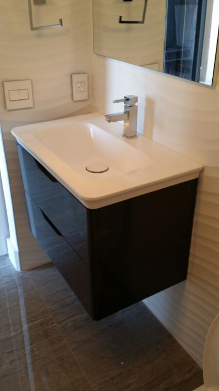 Contemporary White Bath