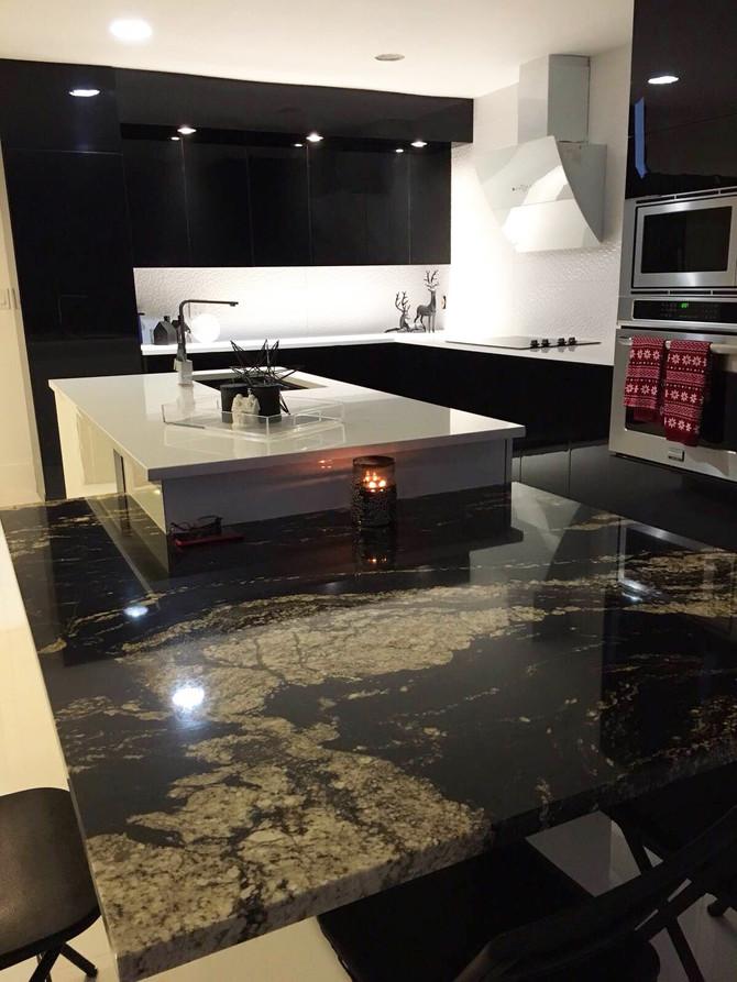 Kitchen countertop: Granite or Quartz?