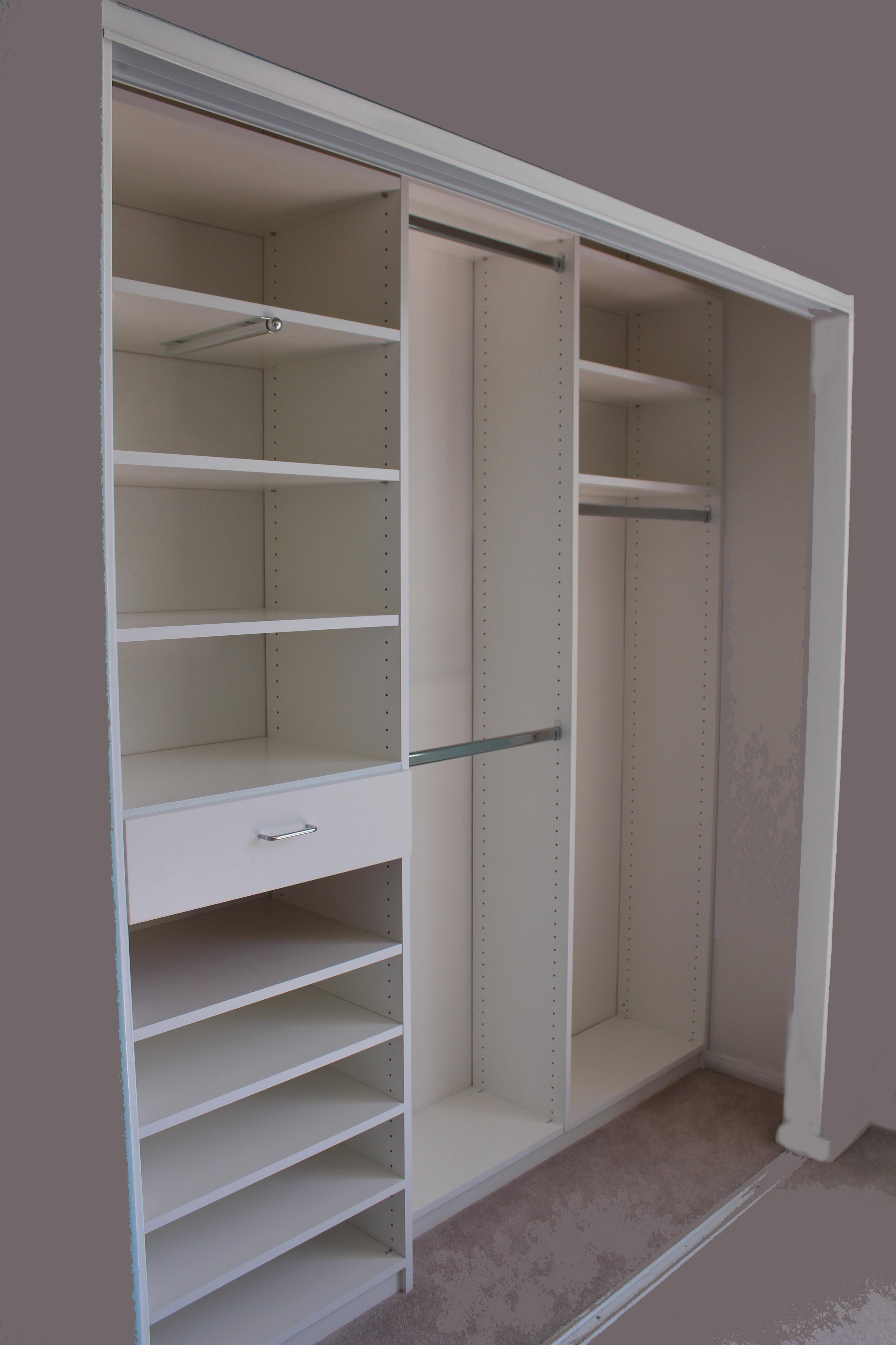Small Closet White