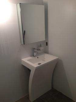 Contemporary Light Grey Bath