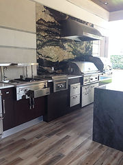 contempo spazio luxury summer kitchen