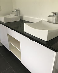 Modern Kitchen Stainless Steel Quartz Countertop