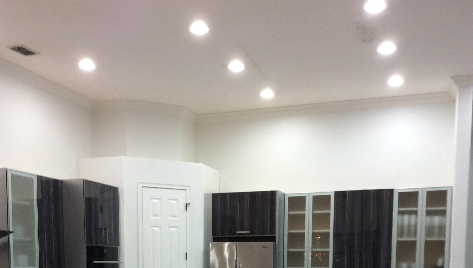 White Light Kitchen Ceiling