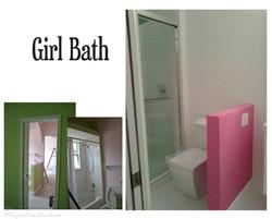 Girl bath