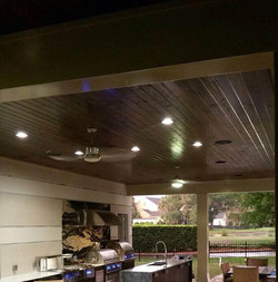 Outdoor Wood Ceiling