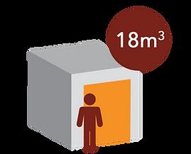 box 18m3