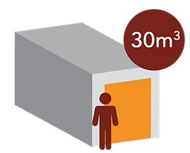 box 30m3