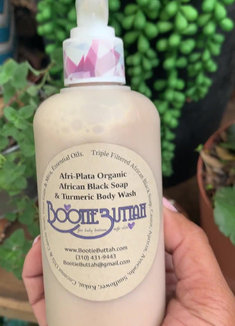 AfriPlata African Black Soap w_ Turmeric