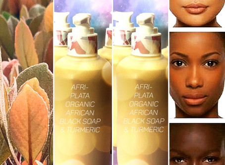 What can African Black Soap & Turmeric Body Wash do for me? Lots!