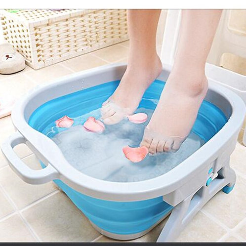 Silicone Folding Cube Foot Bath