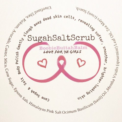 BoobieButtah Sugah Salt Scrub