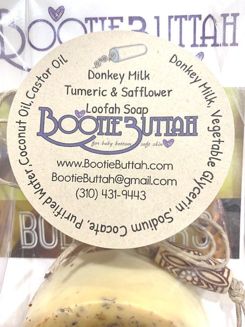 Donkey Milk Turmeric & Safflower Soap