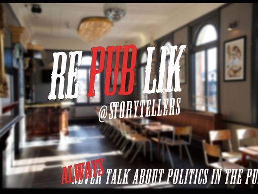 Introducing RePublik… Politics down the pub