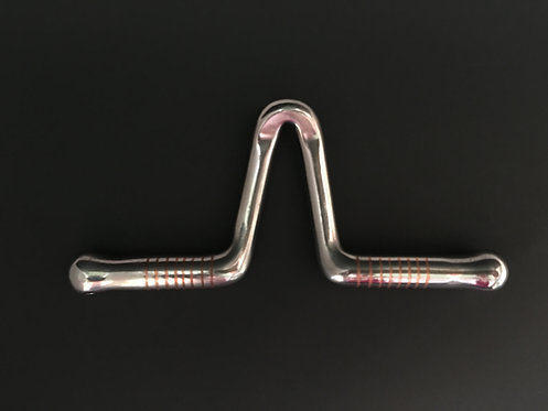"067 Las Cruses 3/8"" Port and 1/2"" Copper Inlaid Bars"