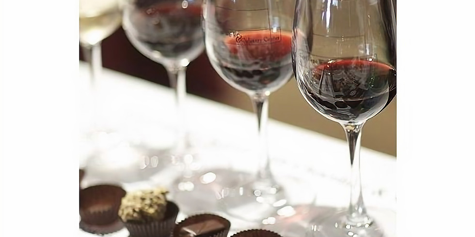 Wine, Chocolate, and Charcuterie Pairing - Local flavors!