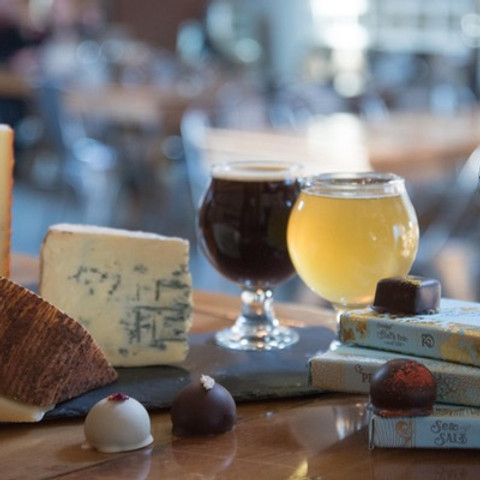 Craft Beer, Chocolate, & Cheese - YES PLEASE!