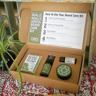 A Really useful Beard Oil Kit
