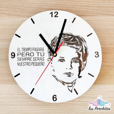 Reloj foto hijo
