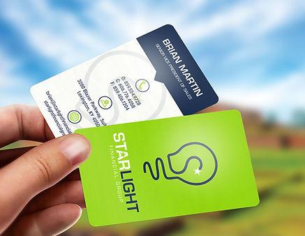 Translucent-plastic-business-card-mockup