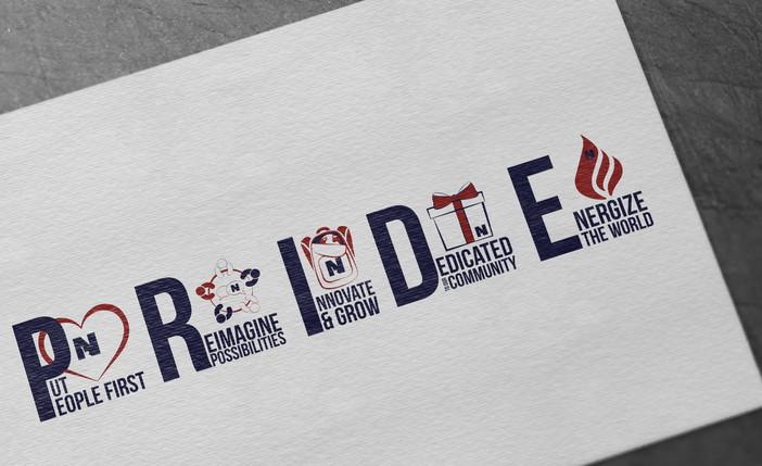 PRIDE Values Logos