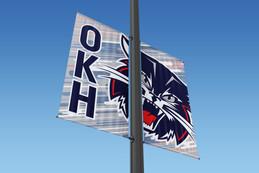 OKH Parking Lot Flags