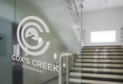Cox's Creek Door Sign