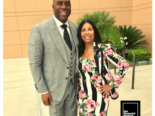 MAGIC JOHNSON'S ASSIST: $100-M LOANS FOR MINORITY-OWNED BUSINESSES