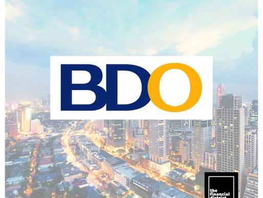 BDO ADDS P20 BILLION IN LOAN LOSS PROVISION