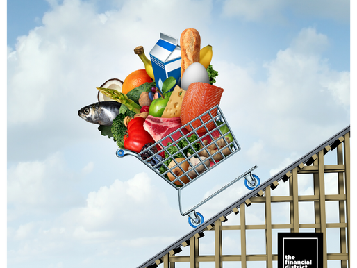 US FOOD PRICES ZOOM AND ARE LIKELY TO STAY HIGH