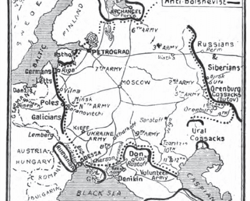 Arkhangelsk and Murmansk: Revolutionary Russian and British Imperial Periphery