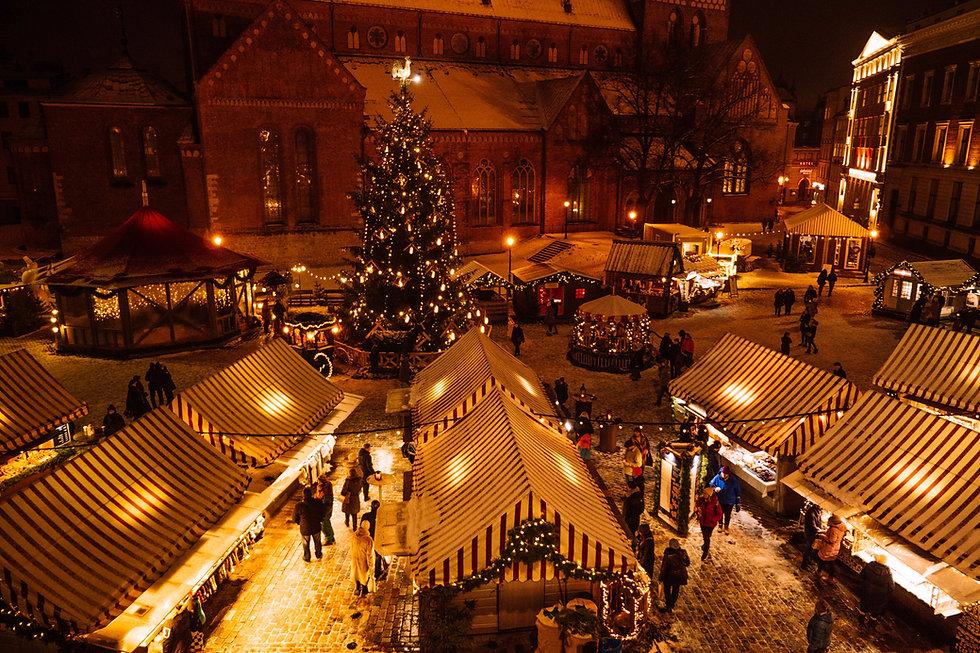 Bild eines Weihnachtsmarktes