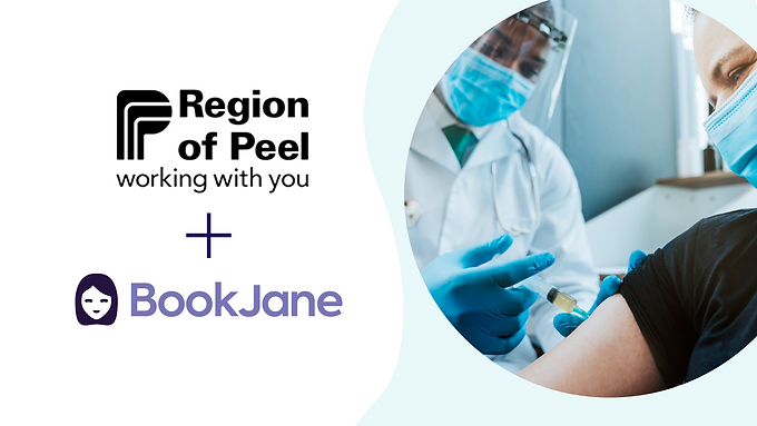 BookJane Partners with Region of Peel to Mobilize Healthcare Workers for COVID-19 Vaccination Clinics