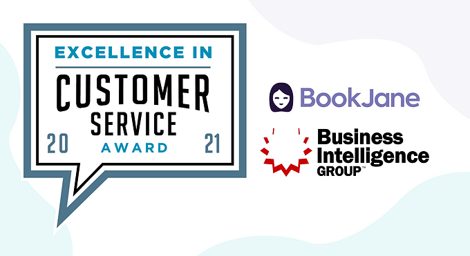 BookJane Wins 2021 Excellence in Customer Service Award