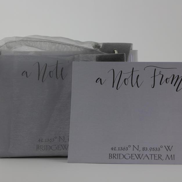 Bridgewater MI Notecards