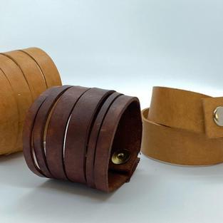 Apotheke Handmade Leather Bracelets