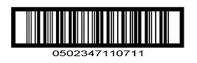 Outer Carton Barcode