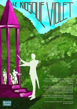 Le Kiosque Violet