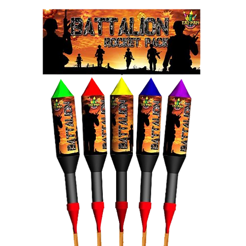 Battalion Rockets by Tai Pan Fireworks