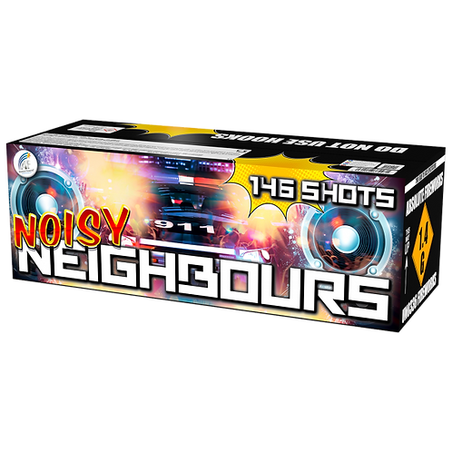 Noisy Neighbours by Absolute Fireworks