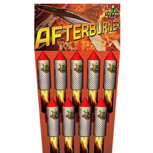 Afterburner Rockets by Tai Pan Fireworks