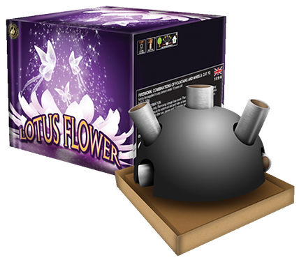 Lotus Flower Fountain By Zeus Fireworks