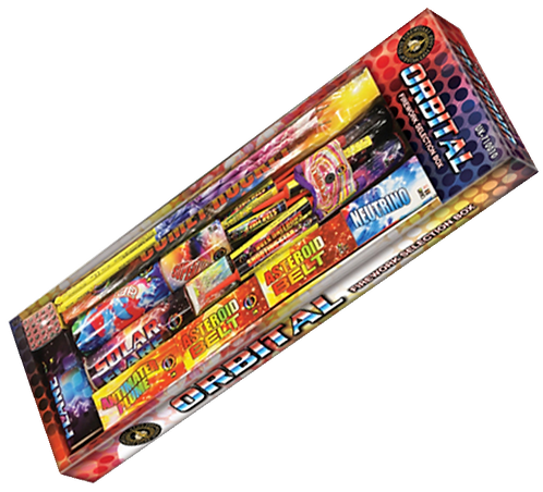 Orbital Selection by Zeus Fireworks
