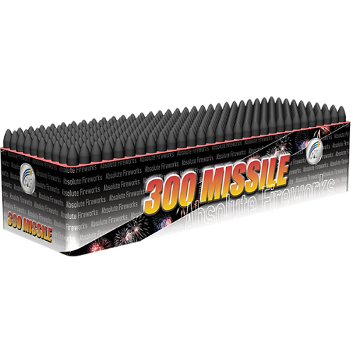 300 Missiles Rapid Fire By Absolute Fireworks
